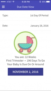 Due date based on ovulation